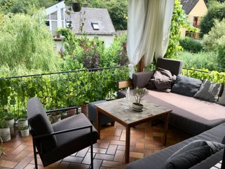 Outdoor Lounge mit Outdoor Sessel